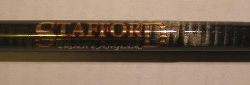 Stafford Rod Label